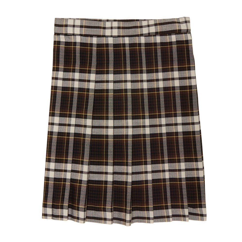 French Toast Big Girls' Plaid Pleated Skirt SV9002