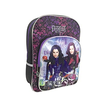 Kids Euroswan - Disney 508419FAF Mochila adaptable para Trolley Descendants Medidas 41x30x10 cm.: Amazon.es: Juguetes y juegos