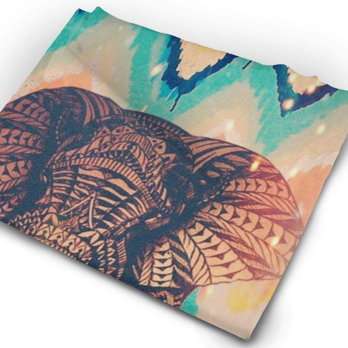 Headwear Elephant Sweatband Elastic Turban Sport Headband Outdoor Head Wrap