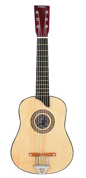 Schylling 6 cuerdas guitarra acústica - tamaño chico: Amazon.es ...