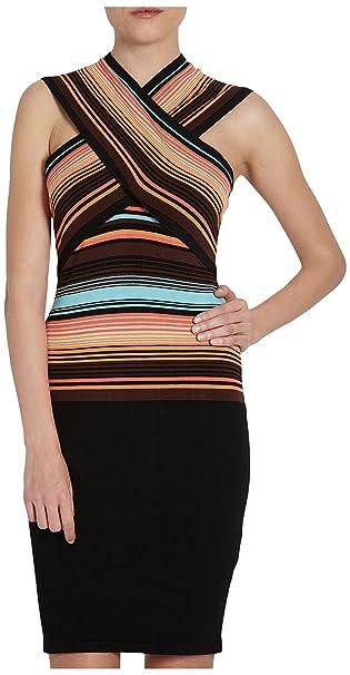 Morgan 151-ROLO.M - Vestido para mujer, color choco, talla 42
