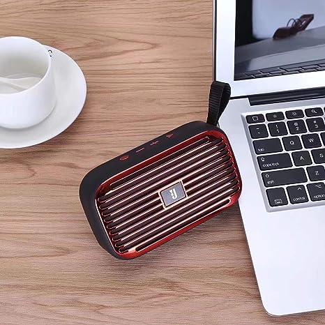 Metal Bluetooth Audio Portátil Inalámbrico Mini Tarjeta ...