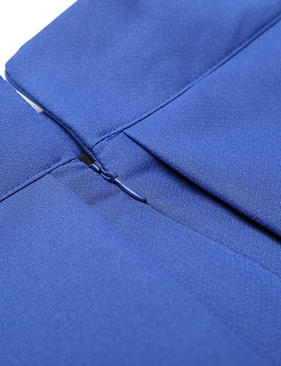 Pleated Midi Skirt | high waisted zipper
