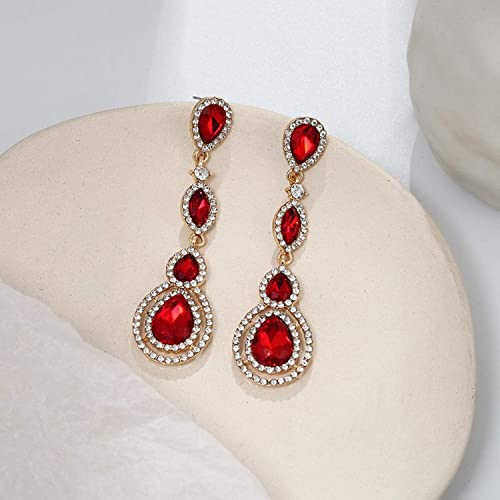 Amazoncom Luxury Earings Fashion Jewelry Water Drop