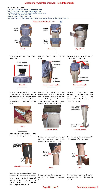INMONARCH Mens Cream Brocade 2 Pc Sherwani Partywear SH417S54 54 Short Cream by INMONARCH (Image #2)