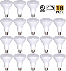 OK Lighting OptoLight BR30 Dimmable LED Light Bulb Regulable Bombillas LED 11 Watt - 65W Replacement