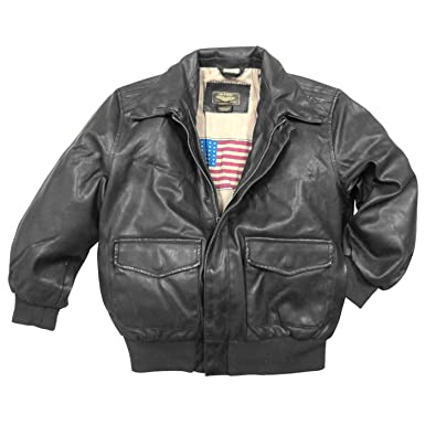 Amazon.com: Landing Leathers Big Boys Air Force A-2 Faux Leather
