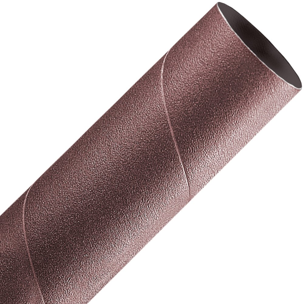 A&H Abrasives 118561, 50-Pack,''abrasives, Sanding Sleeves, Aluminum Oxide, Spiral Bands'', 1-1/2x6 Aluminum Oxide 80 Grit Spiral Band
