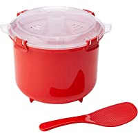 Sistema Microwave  Rice Steamer, Red