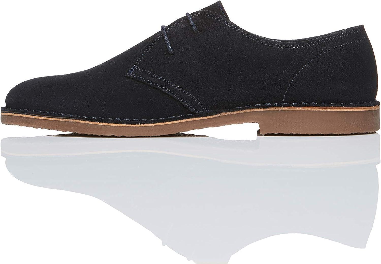 Marca Amazon - find. Zapatos de Serraje con Cordones Hombre