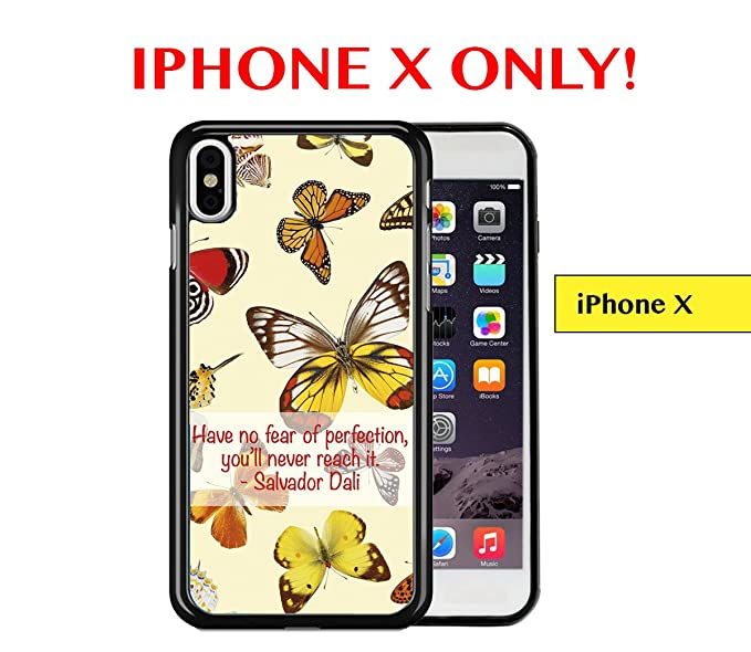 Amazon Com Iphone X Have No Fear Of Perfection