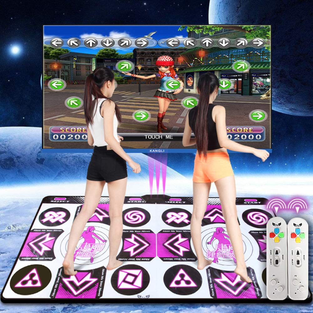 QXMEI Thickened Wireless TV Computer Dual-use Somatosensory Double Game Dance Mat 16595CN by QXMEI (Image #2)