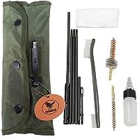 Jongkhurun Pistol Rifle Shot Gun Cleaning Kit for 9mm 5.56 .22.223 12GA .308 .45 .50 and Other calibers