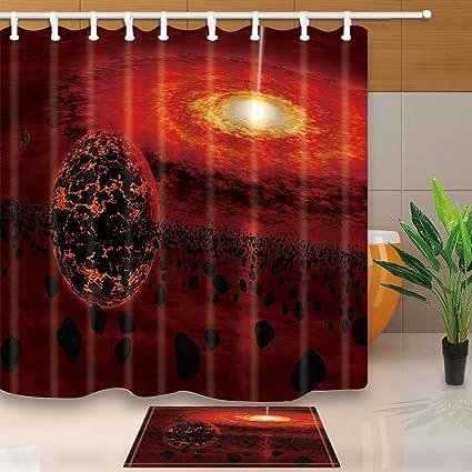 Tende In Poliestere Per Esterni.Spazio Esterno Tende Da Doccia Scorching Heat Sun Aerolite Galaxy
