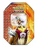 Pokemon PL Tin Deck Box #18 Entei