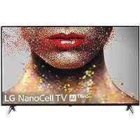 """LG 55SM8500ALEXA - Smart TV NanoCell 4K UHD de 139 cm (55"""") con Inteligencia Artificial, procesador Inteligente Alpha 7 Gen. 2, Deep Learning, 100% HDR y Dolby Atmos, Color Negro"""
