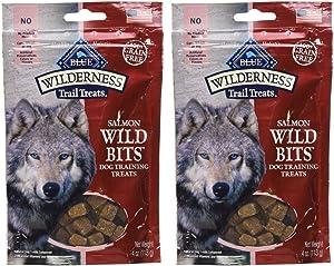 Blue Buffalo Wilderness Trail Treats - Salmon Wild Bits (2 Pack)4 OZ