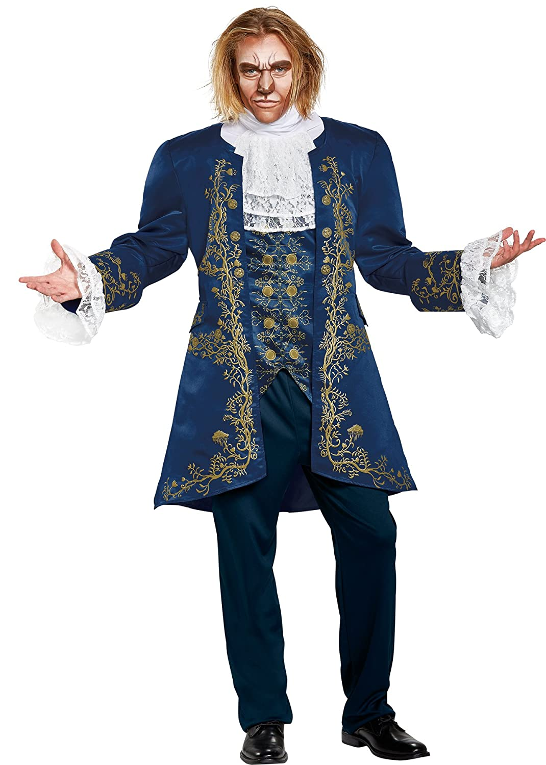 Menu0027s Disney Prestige Beast Movie Theme Costume One Size - DeluxeAdultCostumes.com  sc 1 st  Deluxe Theatrical Quality Adult Costumes & Deluxe Beauty and the Beast Costumes | Deluxe Theatrical Quality ...