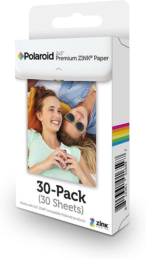 Polaroid Premium Papel, a8, blanco: Amazon.es: Electrónica
