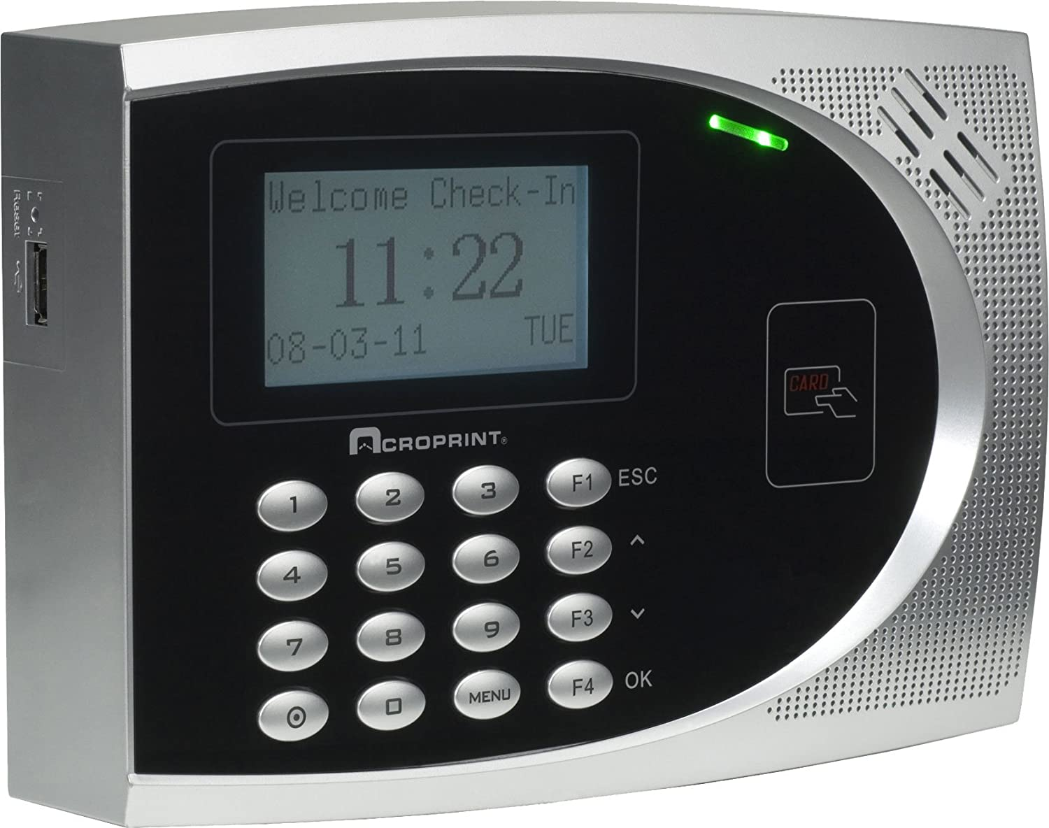 Acroprint timeQplus Proximity Time and Attendance System Time Clock Time Clock Renewed