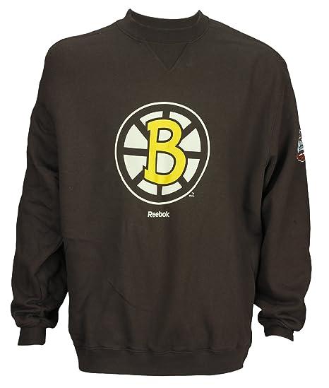 Amazon.com  Reebok NHL Men s Boston Bruins Winter Classic 2010 Crew ... e96446aaf