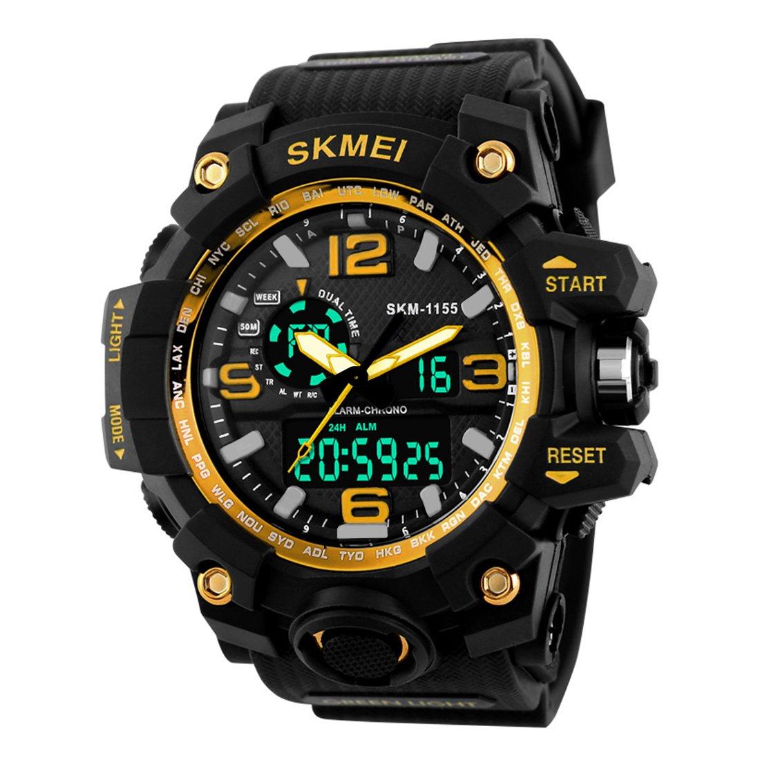 Skmei Analogue-Digital Black Dial Men's Watch - Skmeimw40 product image