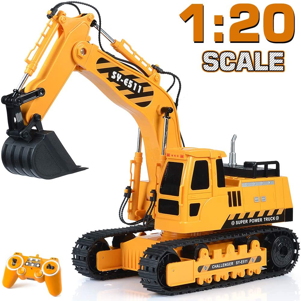 Top 16 Best Remote Control Excavator (2020 Reviews & Buying Guide) 11
