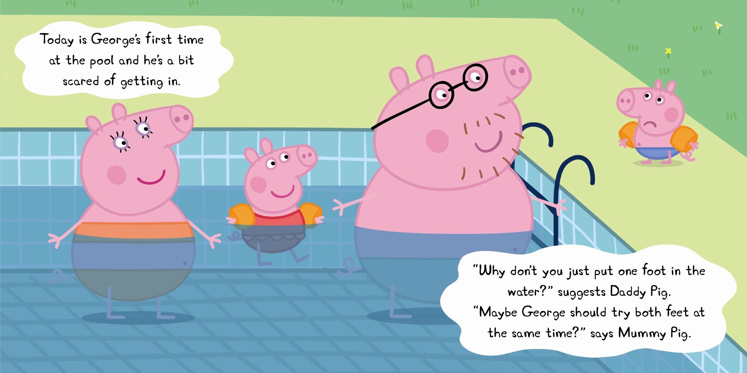 Peppa Pig Peppa Goes Swimming Amazon Ladybird Libros en