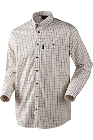 Seeland NIGEL Camisa de cuadros - Disponible en 3 Colores - m-3xl (TIRO / CAZA) - Marron, X-Large: Amazon.es: Deportes y aire libre