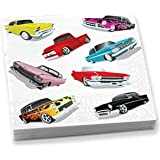 Epic Products Cars Beverage Napkins (20 Pack)