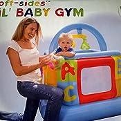 Intex - Gimnasio hinchable para bebe, 117 x 117 x 117 cm (48473NP)