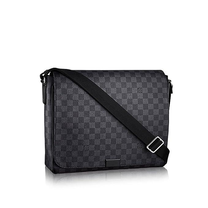 109dcf6ab530 Louis Vuitton Damier Graphite Canvas District MM N41272  Amazon.ca   Clothing   Accessories