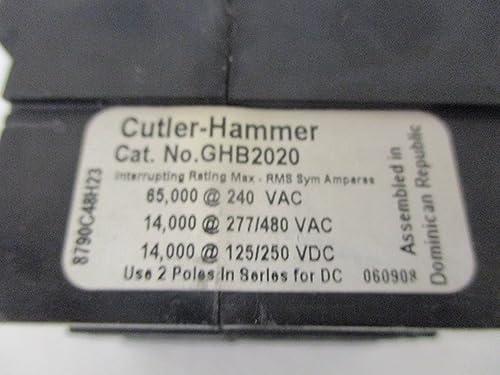 Cutler Hammer GHB2020 Circuit Breaker