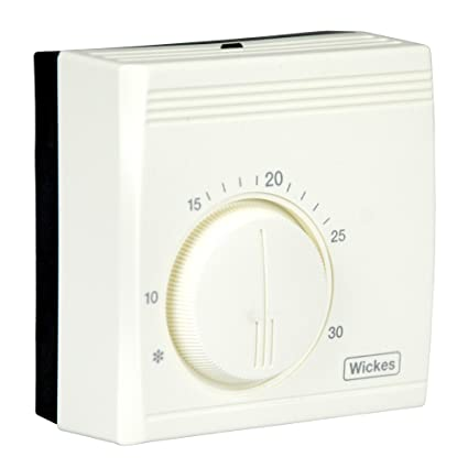 wickes® universal standard room thermostat energy saving mechanical
