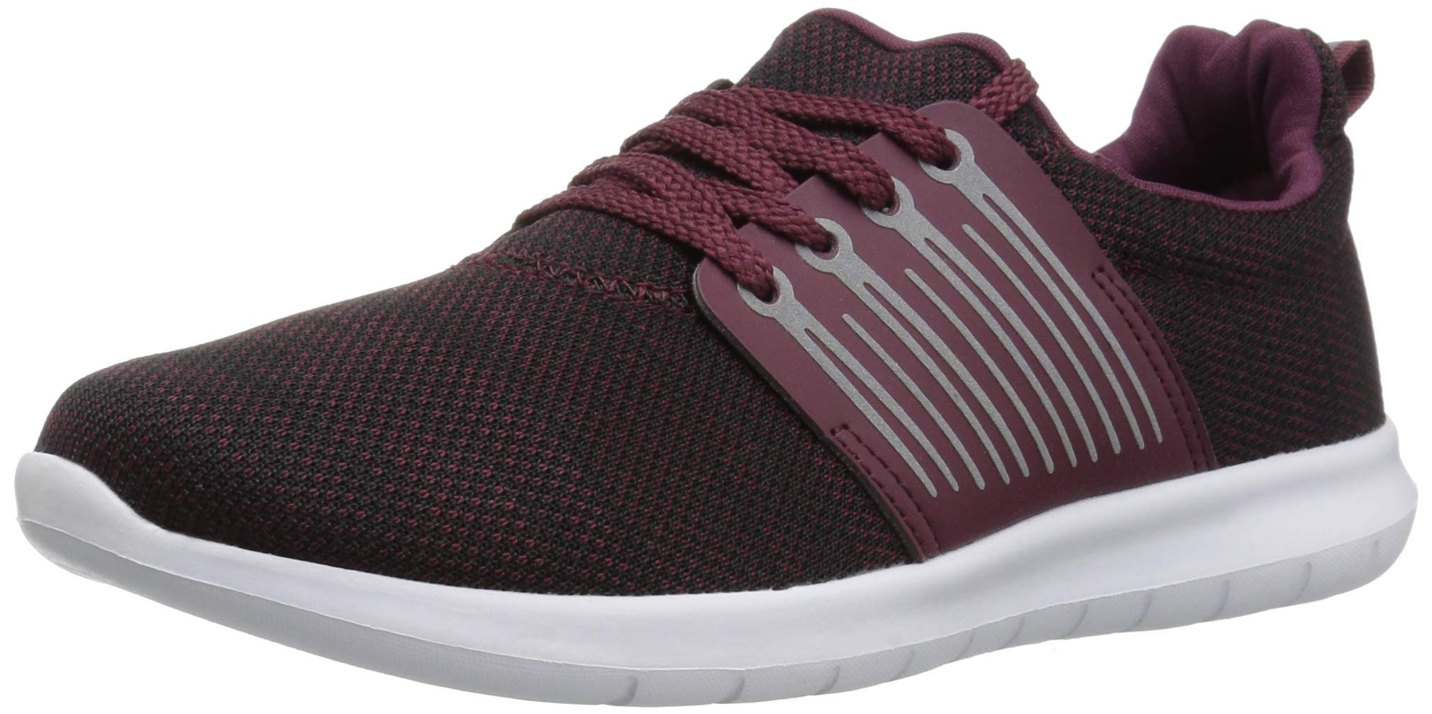 The Children's Place Boys' Athletic Sneaker, Redwood, Youth 13 Child US Little Kid