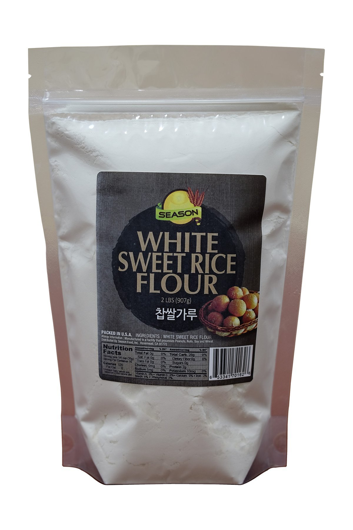 Season White Sweet Rice Flour, 2-Pound