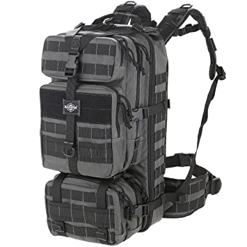 Maxpedition halcón gerifalte mochila (lobo gris) + ResQMe Spring-a la vez libre para romper cristales/de herramientas de seguridad: Amazon.es: Deportes y ...