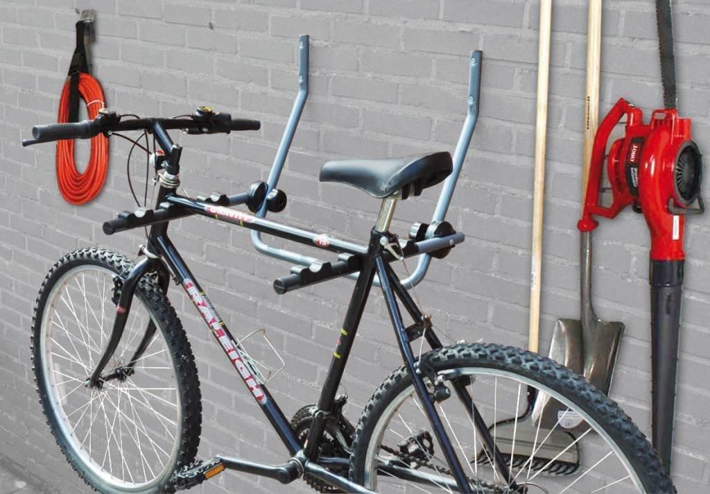 Bicycle Gear 871125231232 Portabici a Muro, argentoo