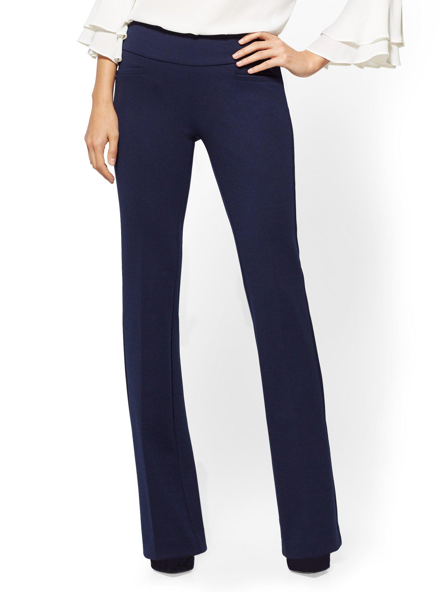 New York & Co. 7Th Avenue Tall Pant - Bootcut Medium Grand Sapphire