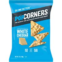POPCORNERS Original Cheddar, Popped Corn Chips (7oz)