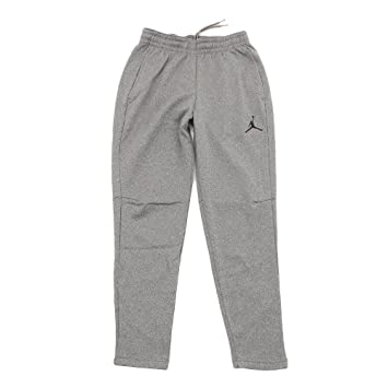 Nike Jordan Therma 23 Alpha Pants Sz Medium Carbon Heather/black 861557-091 Activewear