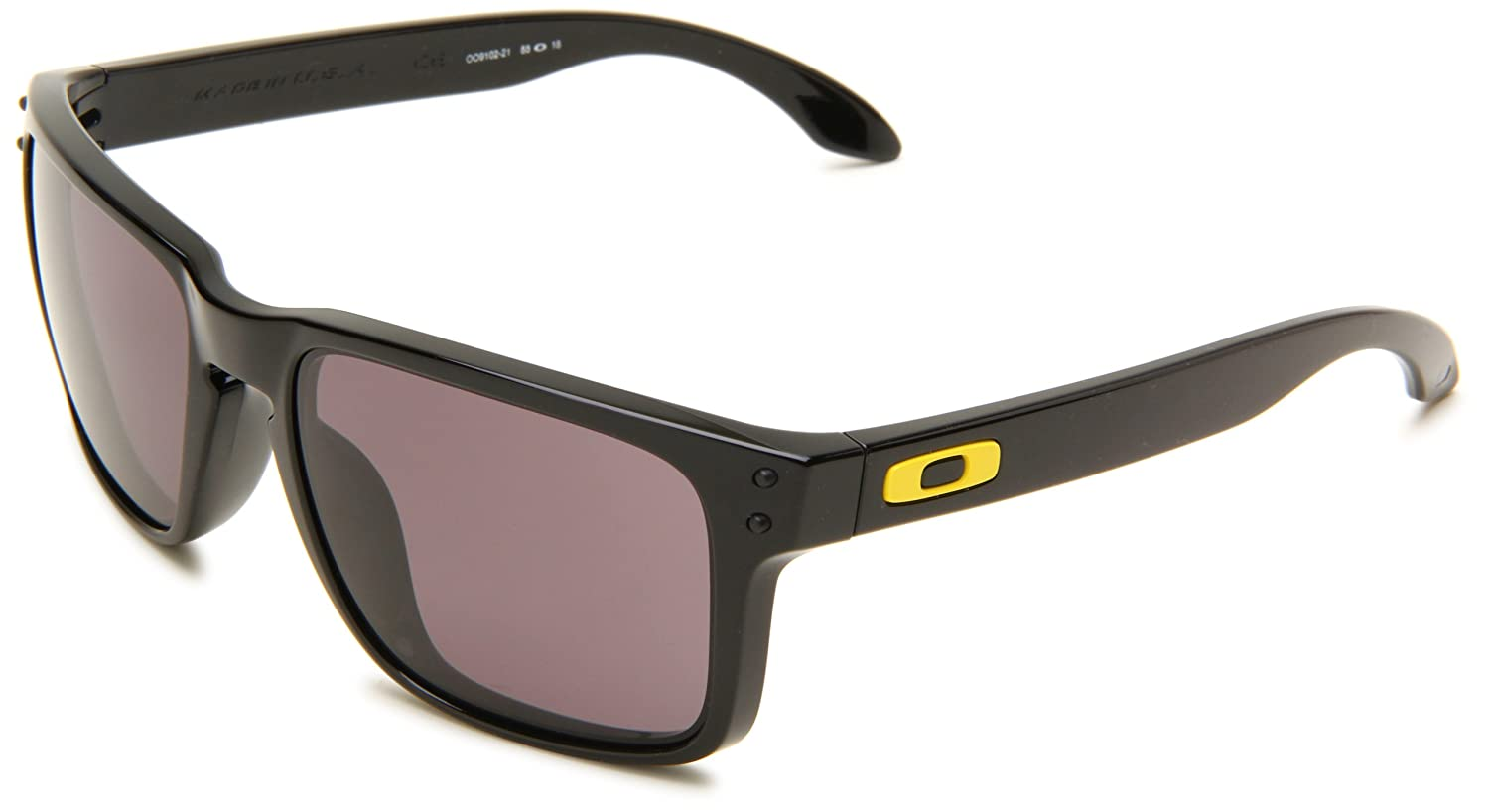 b8f6feb756 Oakley Holbrook VR 46 Rossi Black Warm Grey  Amazon.co.uk  Clothing