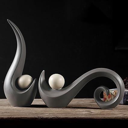 Soprammobili Per Tavolo Da Salotto.Wkaijco Ornamenti Piani Di Casa Creativita Ceramiche Da Tavolo Mobili Armadi Decorativo Soggiorno Mensole Semplice A