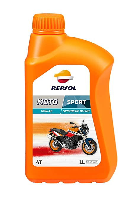 Repsol RP180N51 Moto Sport 4T 10W-40 Aceite de Motor, 1 L