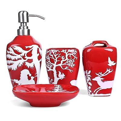FORLONG FL3017 Christmas Tree Ceramic Bathroom ...