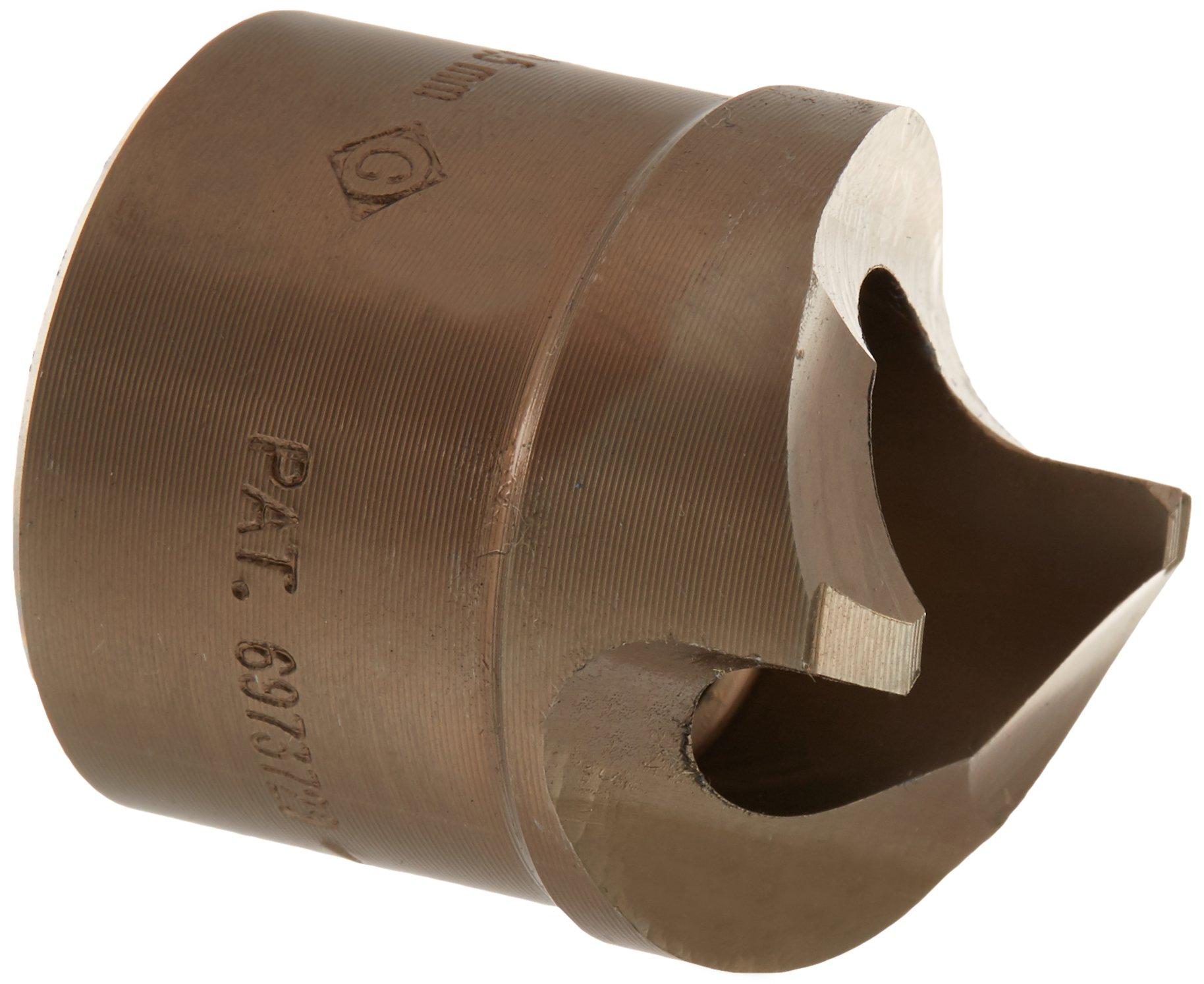 Greenlee 36490 Slug-Splitter Self-Centering Knockout Punch, 1-7/32-Inch