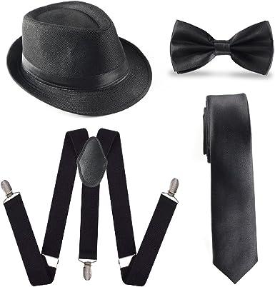 Beelittle 1920s accesorio para hombre conjunto sombrero de ...