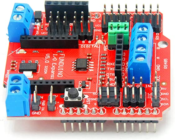 5PCS Xbee//Bluetooth//SRS485 RS485//APC220 I//O Sensor Expansion Shield V5.0