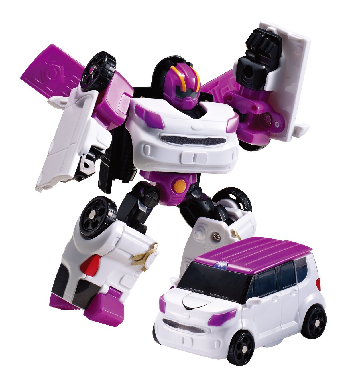 Tobot Youngtoys Mini W Transforming robot Car to Robot Animation Character …