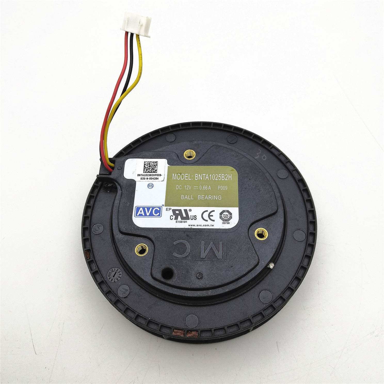 for AVC BNTA1025B2H 12V 0.66A Centrifugal Car Air Purifier Fan